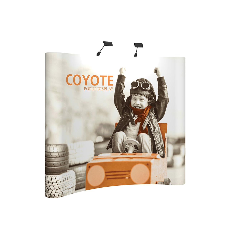 Coyote Popup Displays
