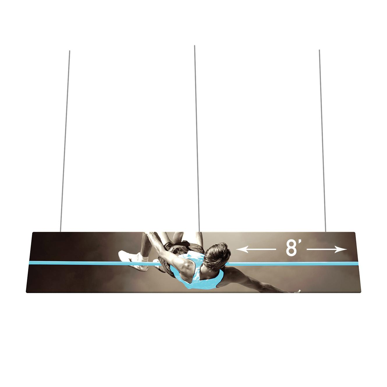 Flat Panel Fabric Hanging Signs