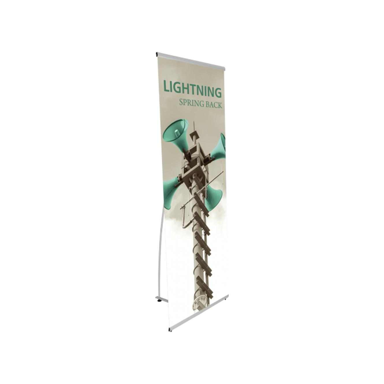 Banner Stands Spring Back & Telescopic