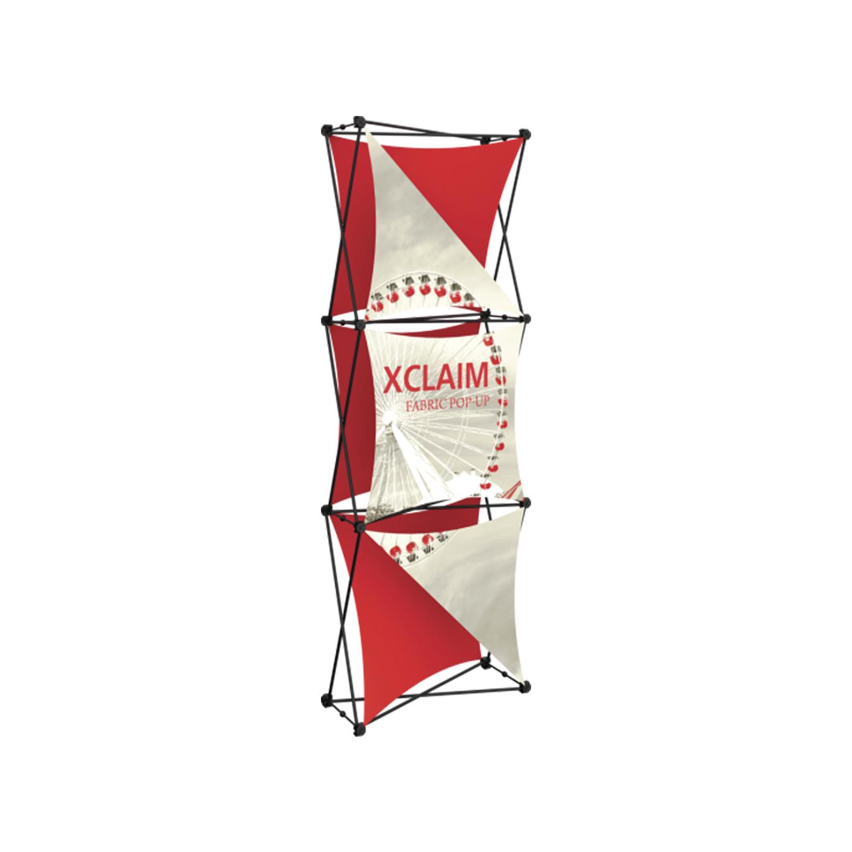 X-claim Fabric Popup Displays