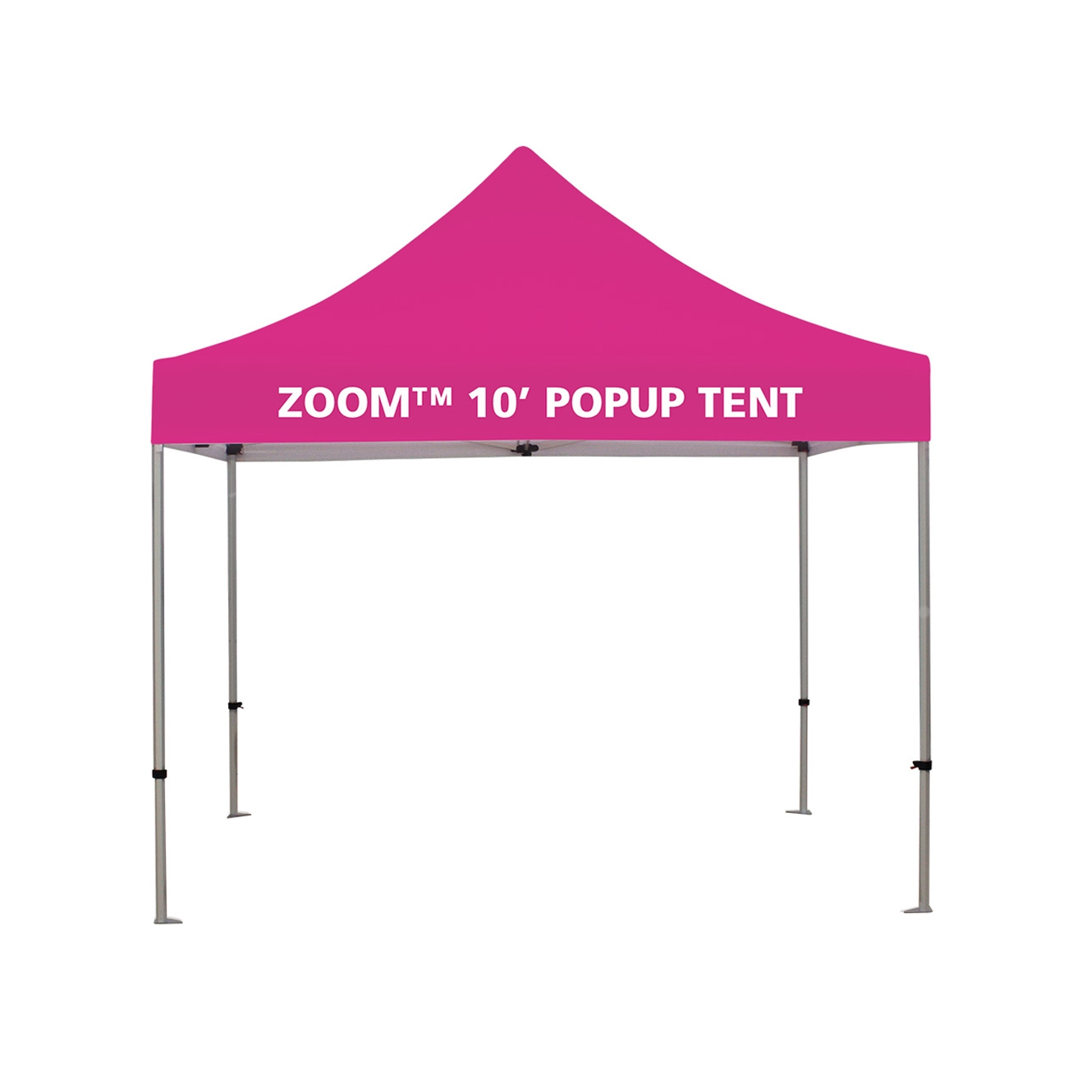 ZOOM 10' Popup Tent Kit with valance printed