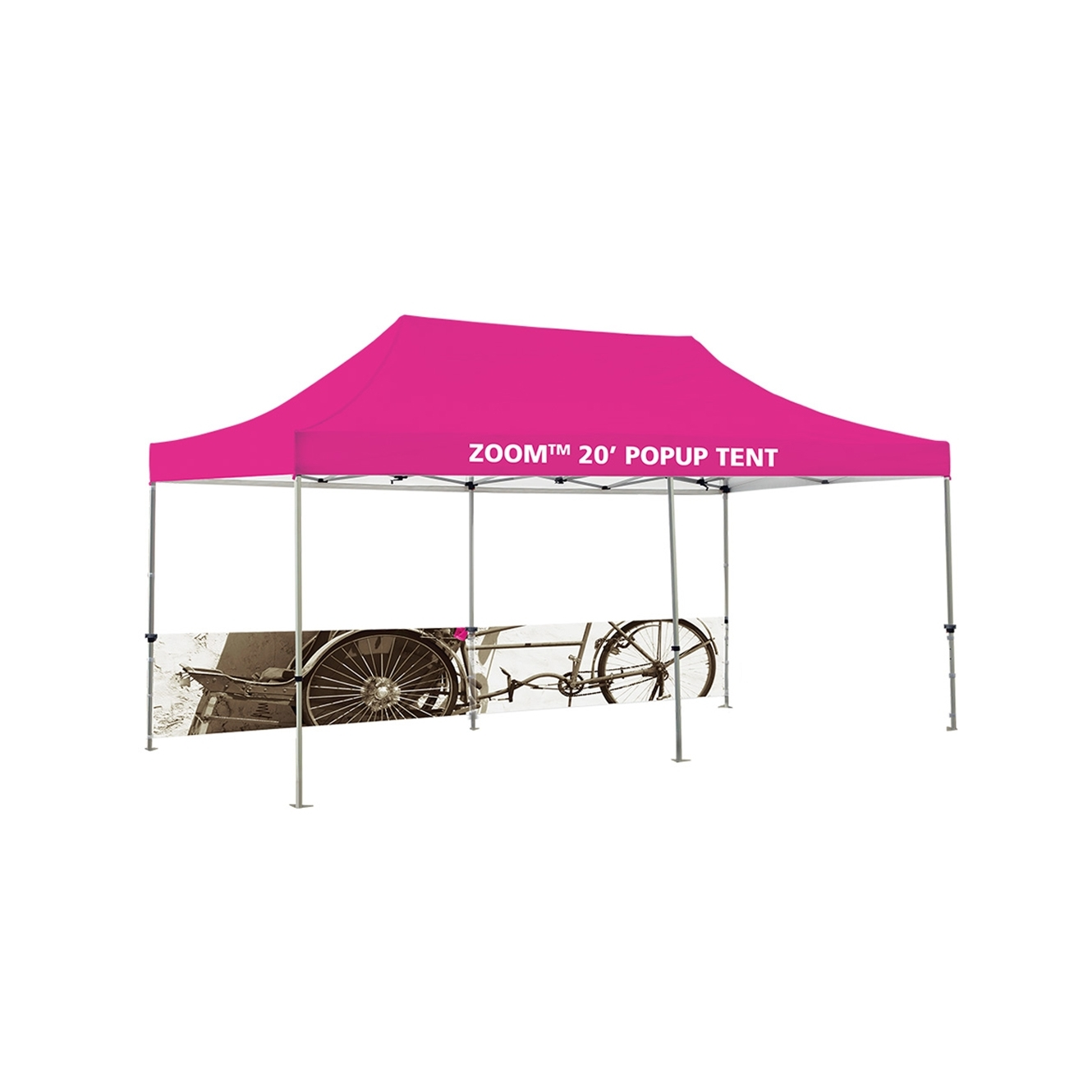 20' Popup Tent - Half Wall Only