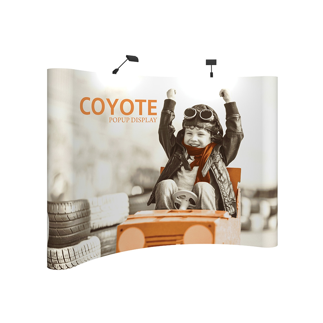 4x3 Coyote Curved