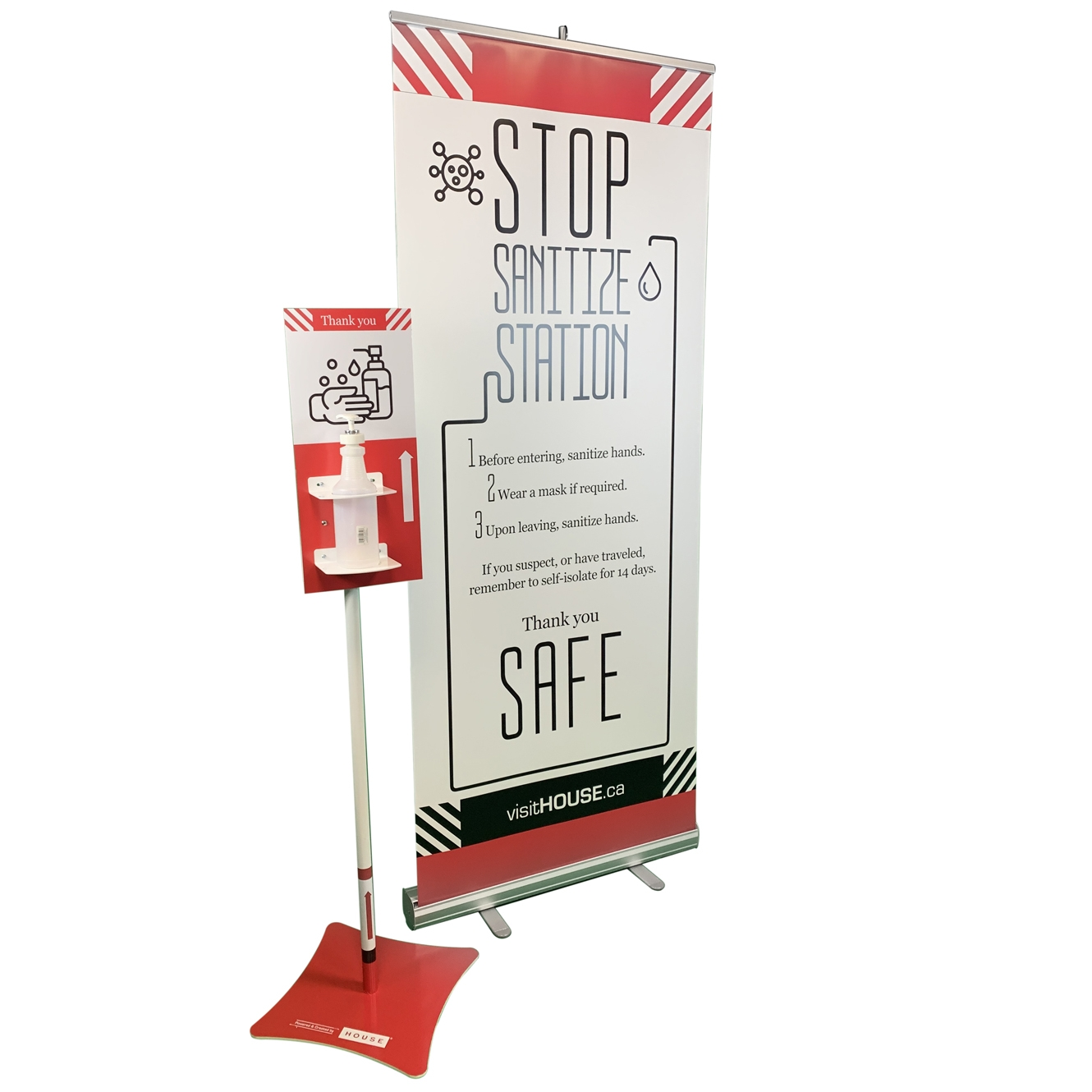 Sanitize Station Kit 2