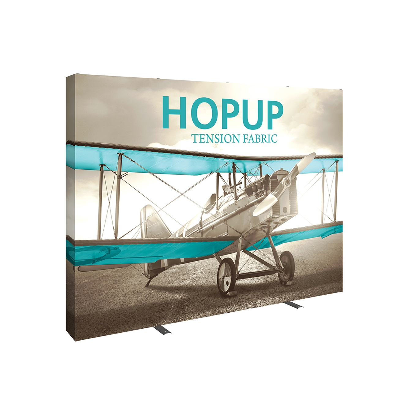 Pop-Fab 4x3 Full Height Straight Tension Fabric Display