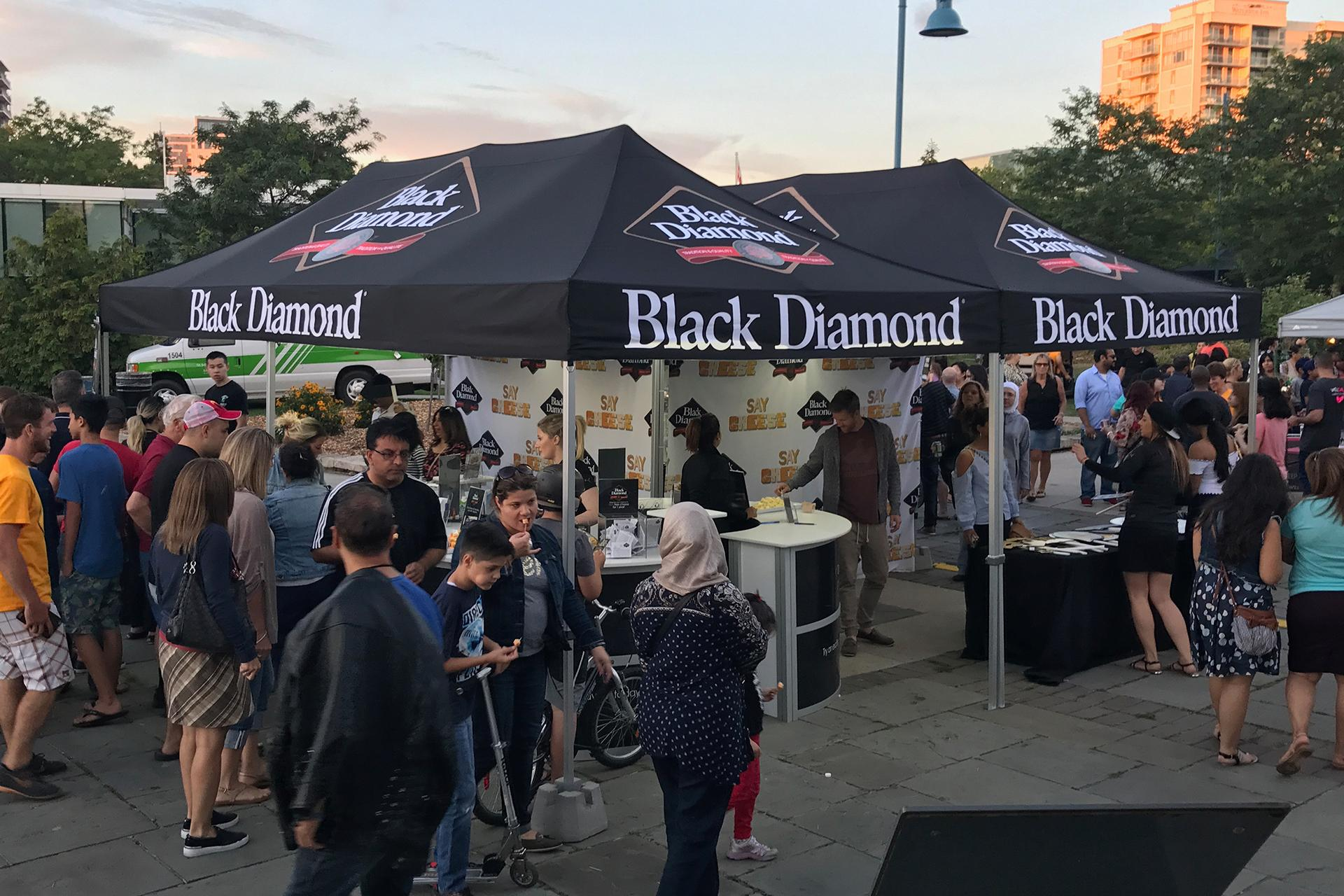 Black Diamond Cheese Activation