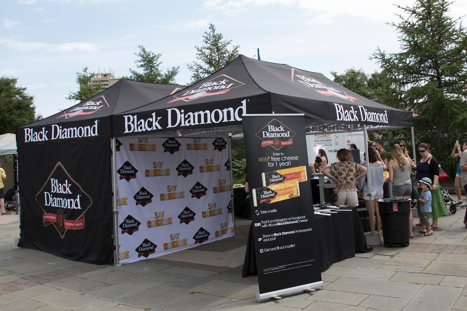 Black Diamond Cheese Activation