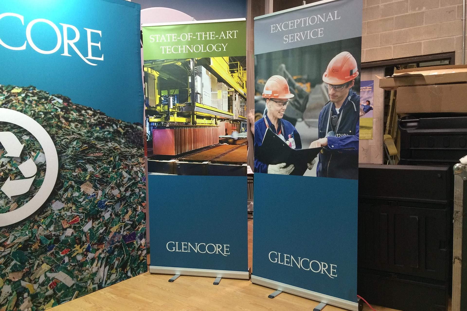 Glencore New Exhibit Campaign