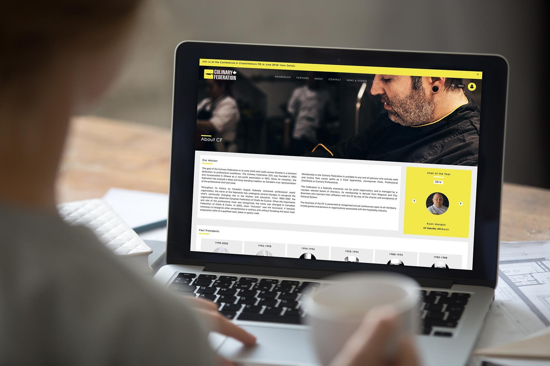 website, marketing, branding, cf