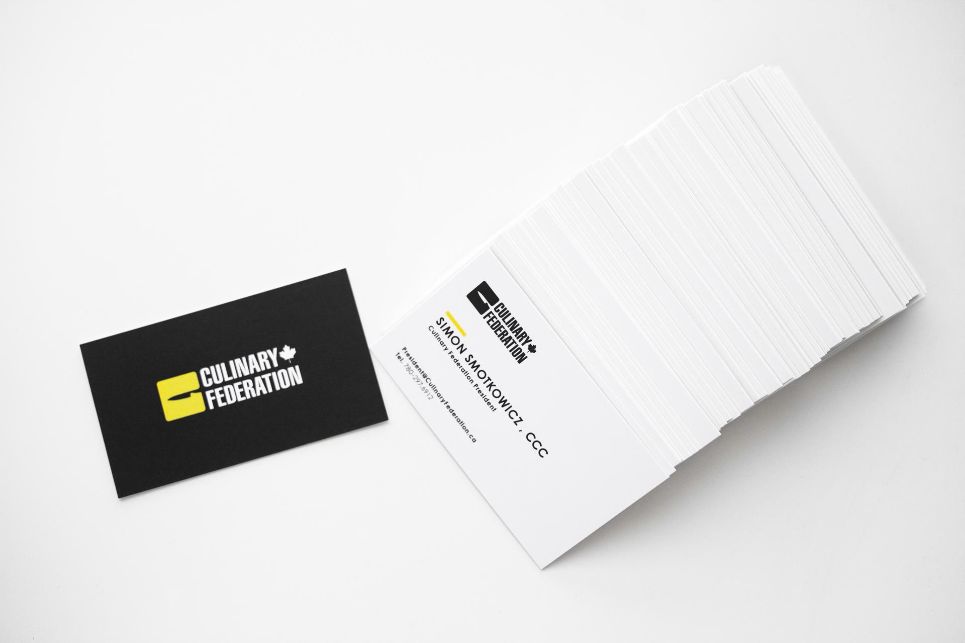 business cards, branding, stationery